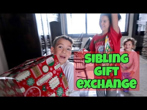 WHAT WE GOT FOR CHRISTMAS FROM SIBILNGS! | GIFT EXCHANGE