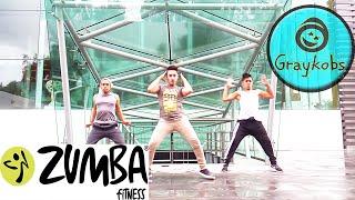Zumba - Mueve La Cintura  El Chevo By Lalo Graykobs Choreography