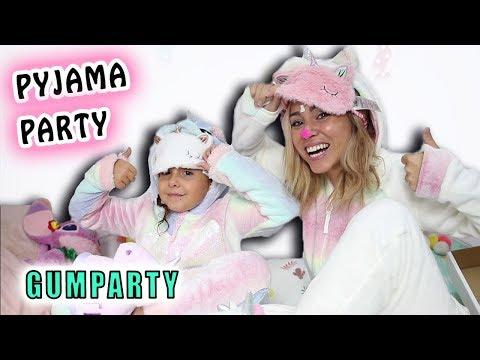 PYJAMA PARTY en mode LICORNE : GumParty !