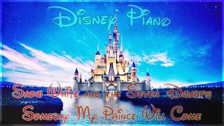 "Gambar cover Disney Piano - Snow White and the Seven Dwarfs ""Someday My Prince Will Come"" - Relaxing Piano"