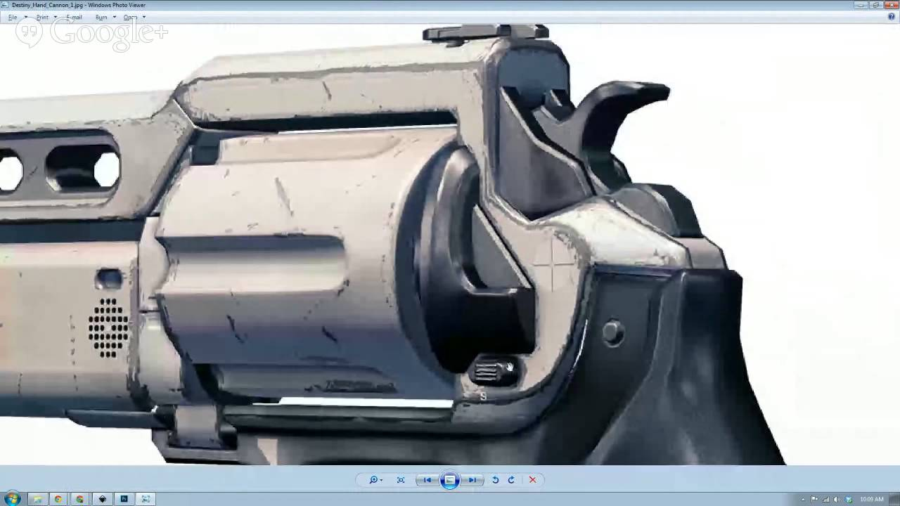Prop live drawing the destiny hand cannon blueprint youtube malvernweather Images