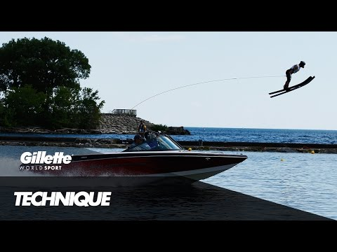 The Art of Waterski Jumping | Gillette World Sport