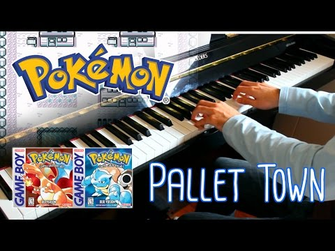 🎵 Pallet Town (Pokémon Red and Blue) ~ Piano cover w/ Sheet Music!
