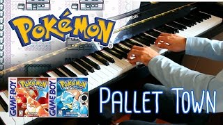 Pallet Town (Pokémon Red and Blue) ~ Piano cover w/ Sheet Music!