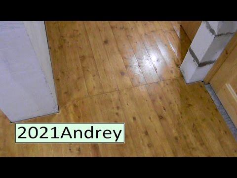 видео: Как ведут себя деревянные полы в процессе эксплуатации.  фильм - 57