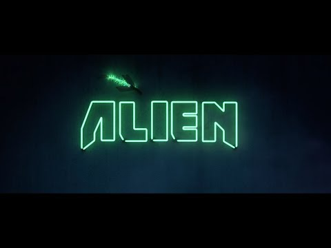 DIE ANTWOORD ft  The Black Goat 'ALIEN'  //  Only L y r i c s