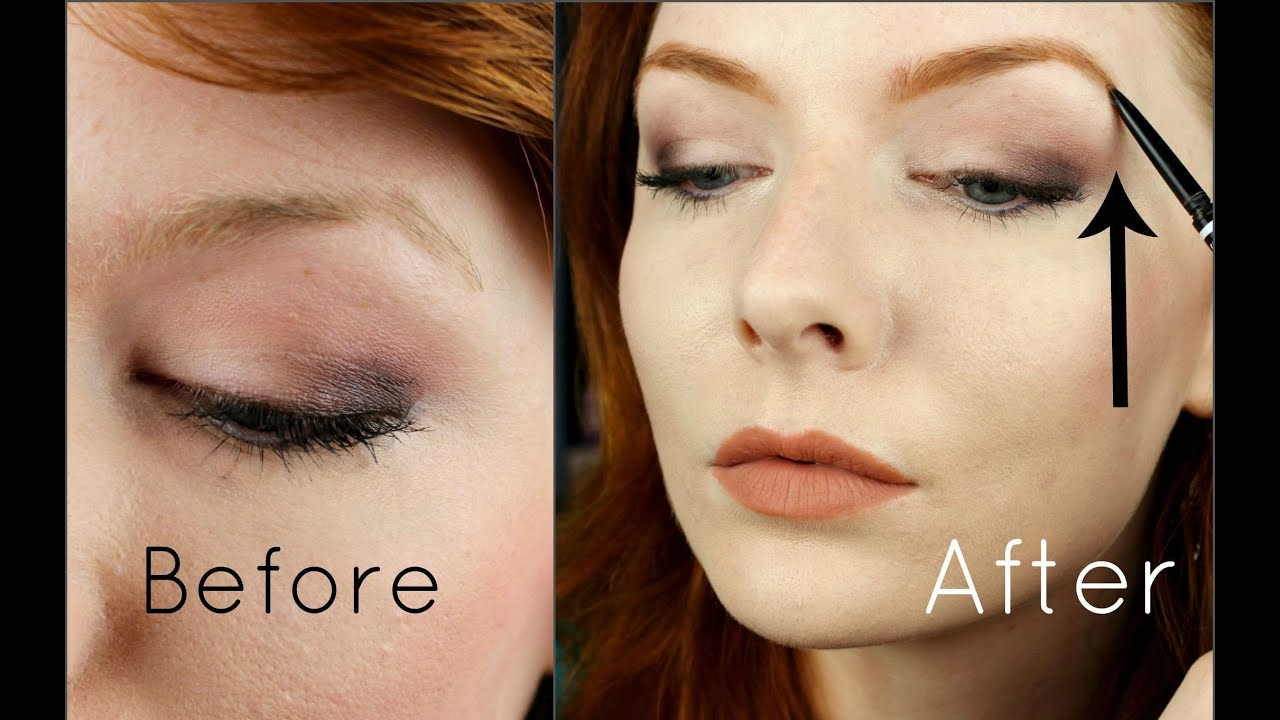 Redhead Eyebrow Routine Nyx Microbrow Youtube