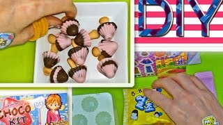 Valentine's Day DIY Haitai Choco Kit Bin With Stickers Unboxing | KIMYOKITTEN