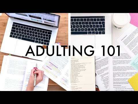 Adulting 101 for College Students // Budgeting, Meal Prep, Laundry, Organisation and Much More!