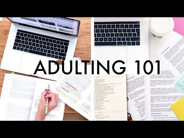 Adulting 101 for College Students