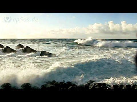 Atlantic Ocean Waves for Surfing on Tenerife Island