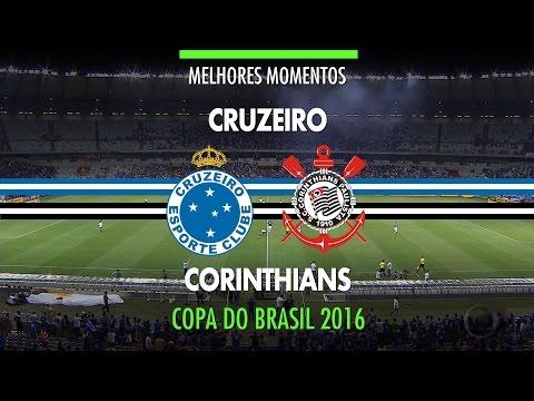 Melhores Momentos - Cruzeiro 4 x 2 Corinthians - Copa do Brasil - 19/10/2016