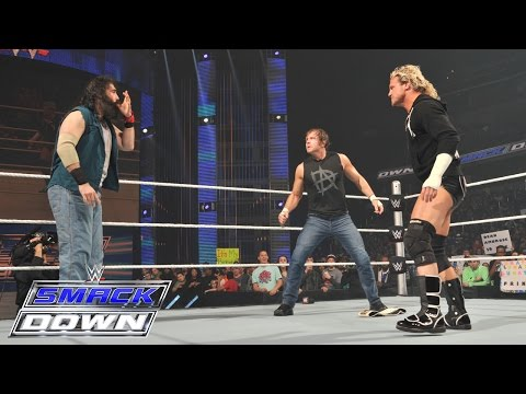 An altercation ensues over the Intercontinental Championship: SmackDown, March 5, 2015