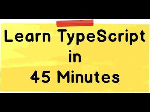 Learn TypeScript for beginners - YouTube