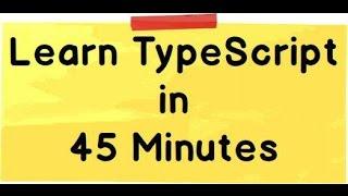 Learn TypeScript for beginners