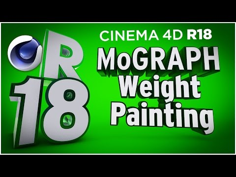 Cinema 4D R18 - MoGraph HoneyComb Array, New MoGraph