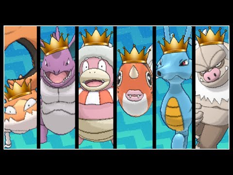 FULL POKEMON KINGS TEAM!
