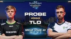 Probe vs TLO PvZ - Group B Stage 2 - WCS Austin 2018 - StarCraft II