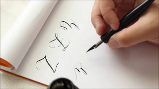 The Letter Z | Basic Calligraphy Tutorial