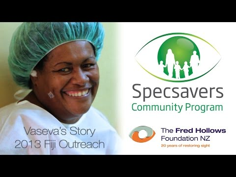 Specsavers partner The Fred Hollows Foundation NZ in Fiji