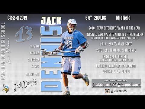 Jack Dennis, 2019 - 2018 Highlights, Cape Henlopen High School