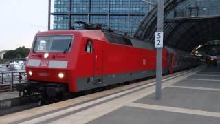 パリ発モスクワ行きトランスヨーロピアンエクスプレス ベルリン中央駅発車