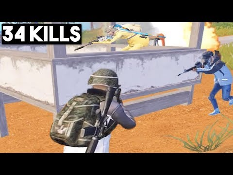 MY BEST SQUAD KILL | 34 KILLS Duo vs SQUAD | PUBG Mobile