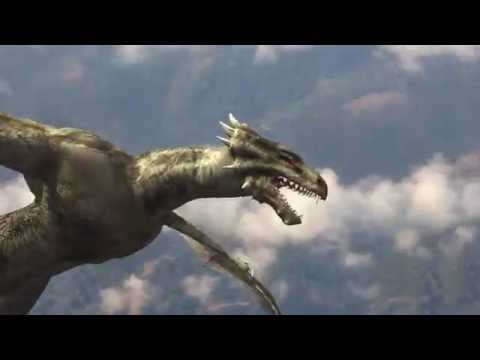 CGI Flying Creature Example