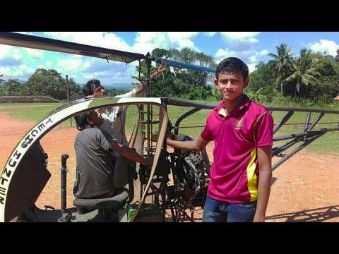 Ratnapura Boy Scout Builds, AMAZING MODEL HELICOPTER !!