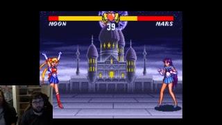 Tekken 7 & Sailor Moon S Stream - Training