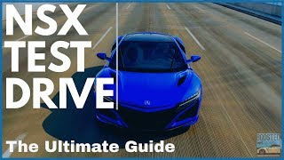 Acura NSX Test Drive - Everything You Need to Know