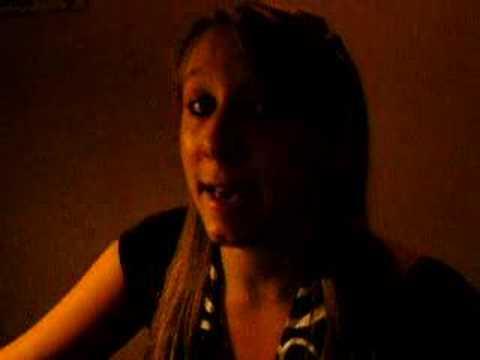 me singing Last christmas - Ashley tisdale