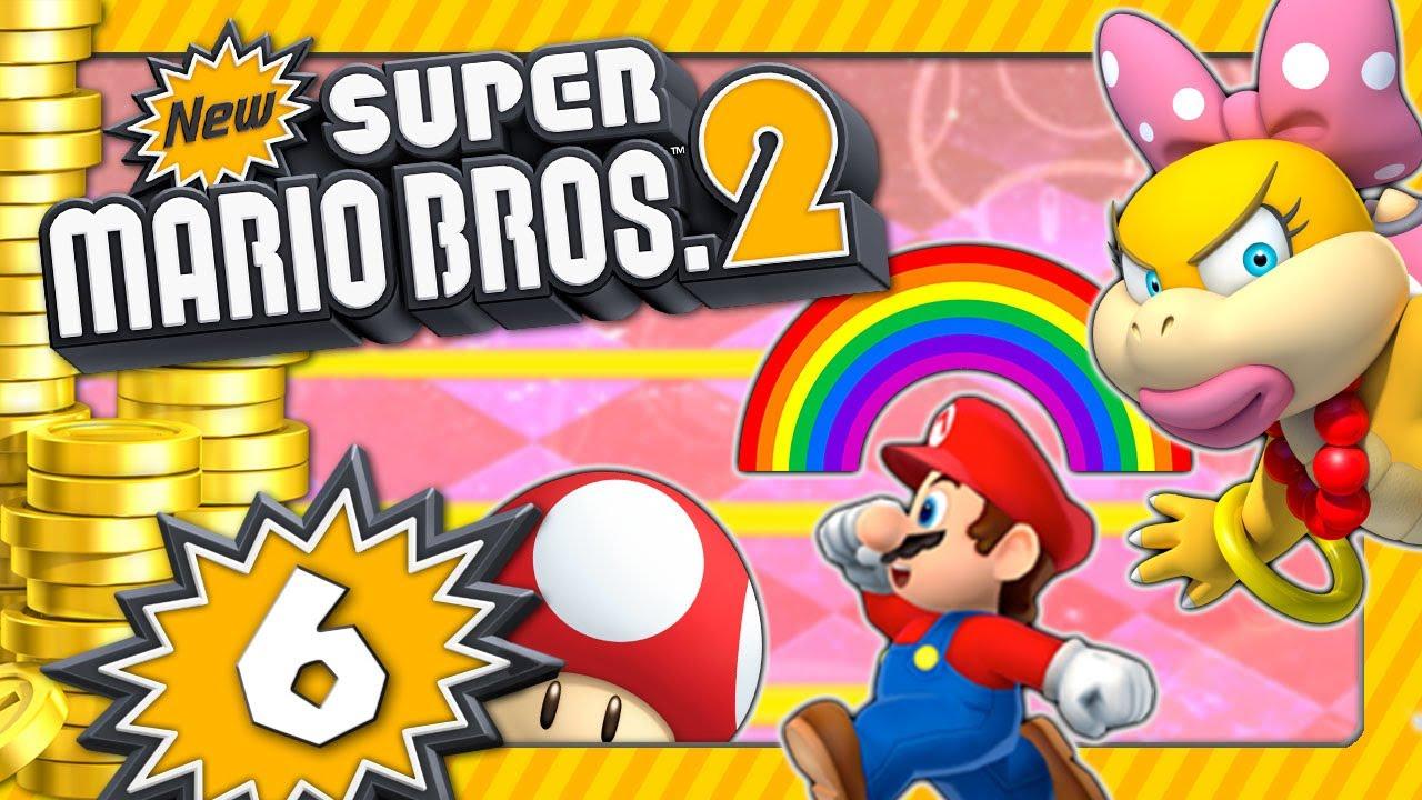 NEW SUPER MARIO BROS. 2 💰 #6: Rainbow-Mythos, Planschen mit Wendy & geheime Welt Pilz