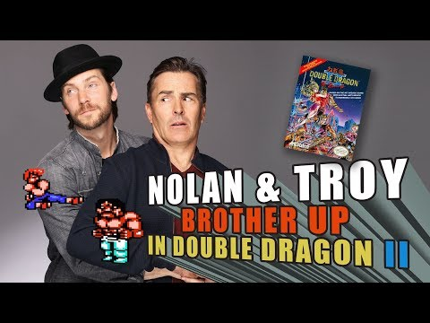 RETRO REPLAY   Nolan North & Troy Baker Brother Up in Double Dragon II