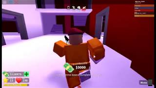 Robbing madcity bank noob style [ Roblox adventures part 4 ]