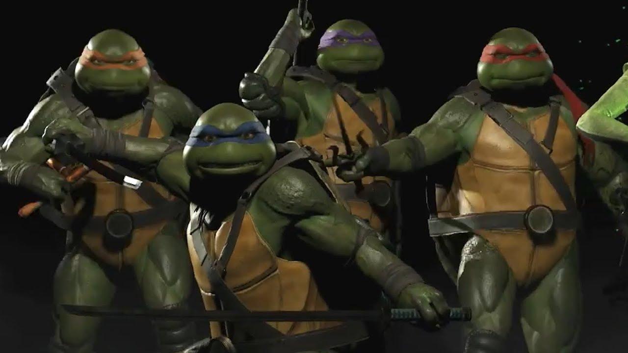 Injustice 2 Teenage Mutant Ninja Turtles Reveal Trailer