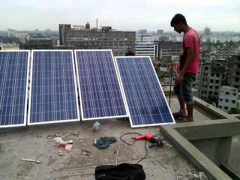 New sun light solar energy