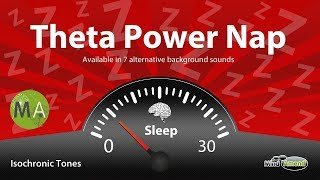 Theta Power Nap Music Increase Energy, Productivity & Memory - Deep Relax