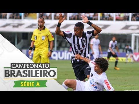 Melhores Momentos - Santos 3 x 1 Atlético-MG - Campeonato Brasileiro (04/11/2017)