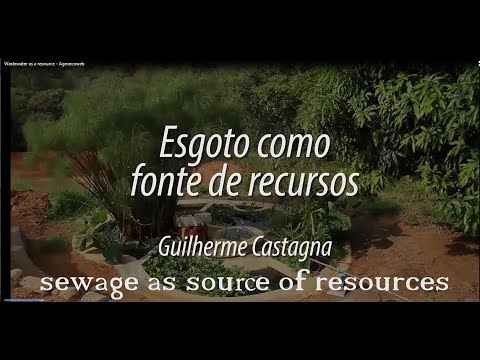 Wastewater as a resource - by Guilherme Castagna