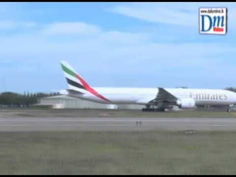 President leaves for Italy