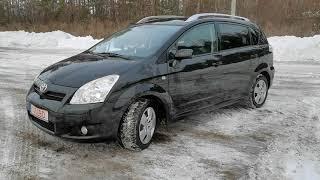 Любимая Тoyota Corolla Verso ;) 1.8л бензин. Автомобили из Европы на заказ!
