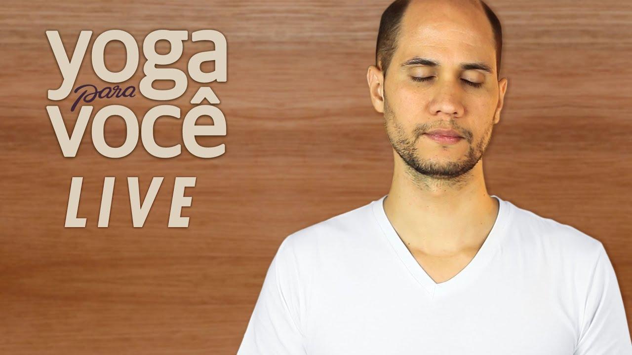 Meditação guiada 5 minutos | Yoga para Você Live