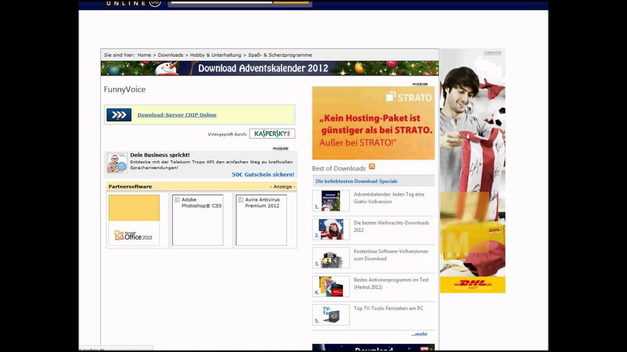 Telekom Weihnachtskalender.Funny Voice Download