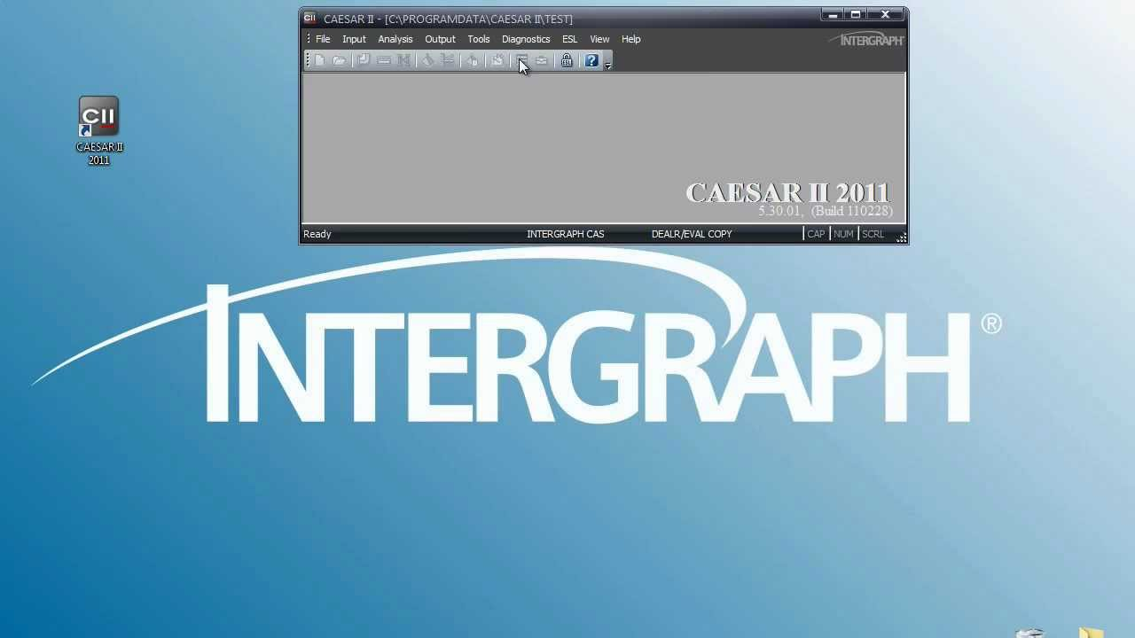 CAESAR II - Pipe Stress Analysis - Setting Units for the CAESAR II  Environment