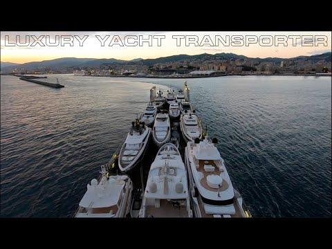Port Departure | SuperYacht Transport Ship