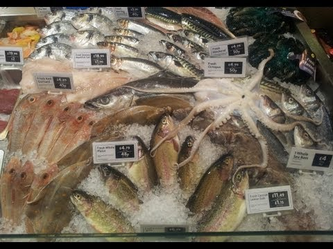 Fishmongers Counter Display.no.4. Thescottreaproject.