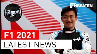 LATEST F1 NEWS   Guanyu Zhou, McLaren winner Daniel Ricciardo, Ferrari's Carlos Sainz and more