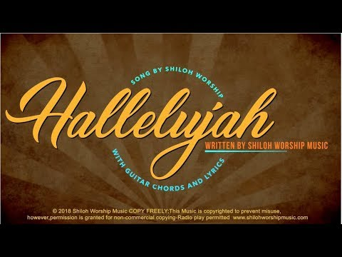 Hallelujah With Lyrics And Guitar Chords Youtube