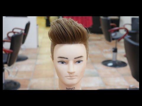 Pompadour Undercut Mens Haircut Tutorial TheSalonGuy
